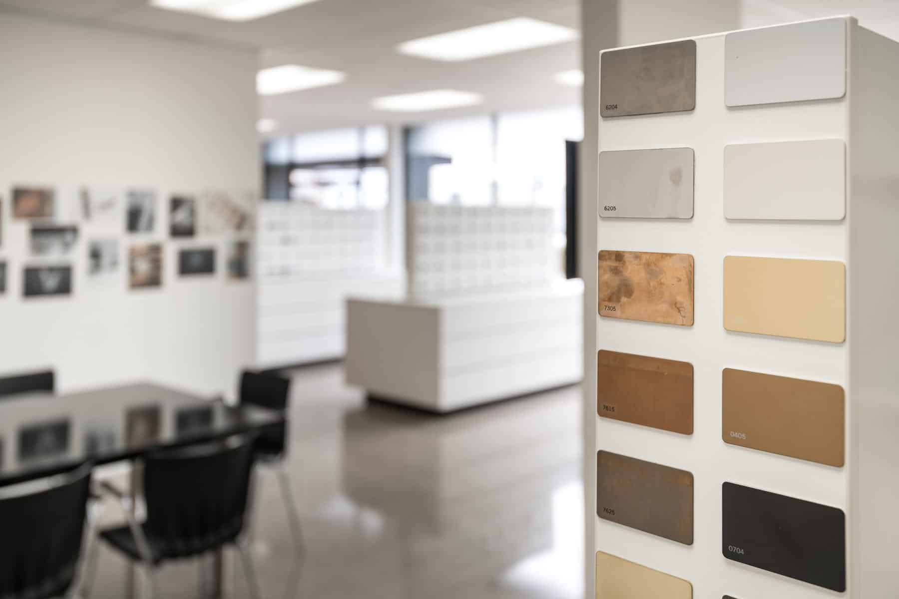 Quality finishes from aged metals to hand stitched leather designs, we work with architects and designers to provide the ideal product every time.