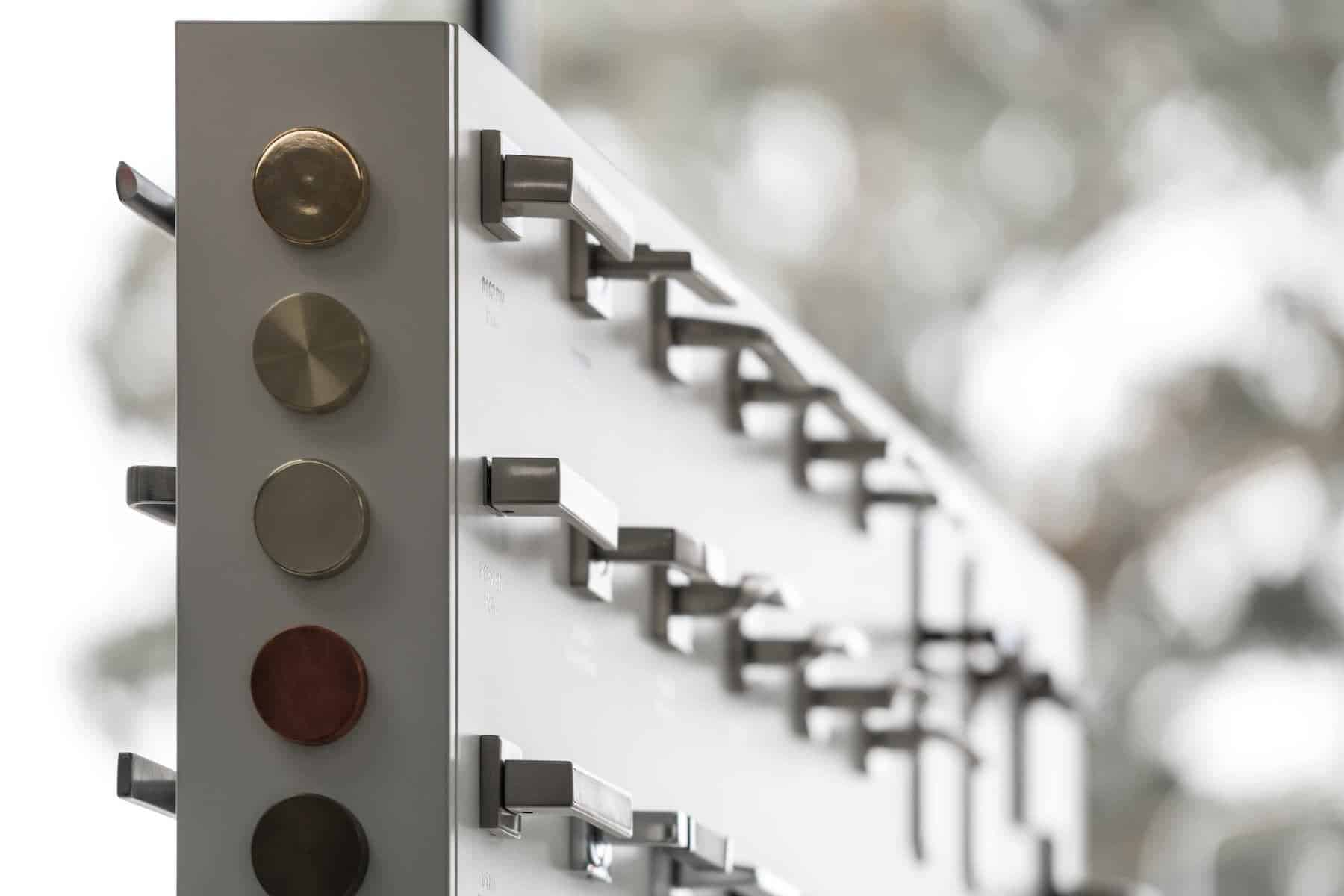We have an exceptional selection, of handles and fittings from the best manufacturers, and can offer bespoke designs.