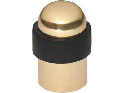 Tradco 50mm Round Domed Floor Mounted Door Stop