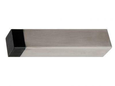 Bailey 85mm long Square Skirting Mounted door Stop