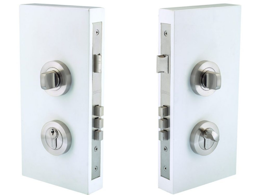 Windsor Brass 60mm Backset Round Double Turn Lockset
