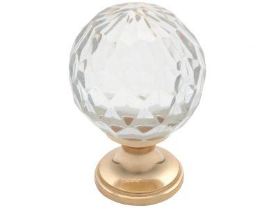 Tradco Cut Glass Knob