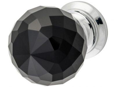 Tradco Diamond Cut Glass Knob
