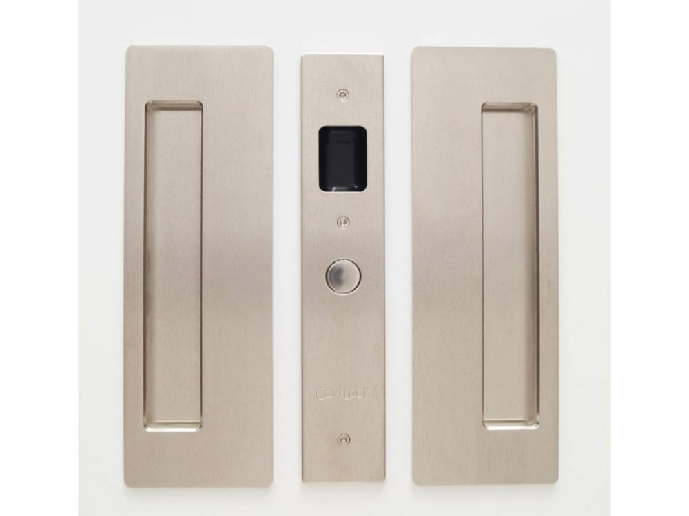 CL400 Magnetic Latching Sliding Door Passage Set
