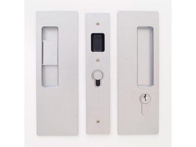 CL400 Series Bi-Parting Handle -LH Snib / Key RH