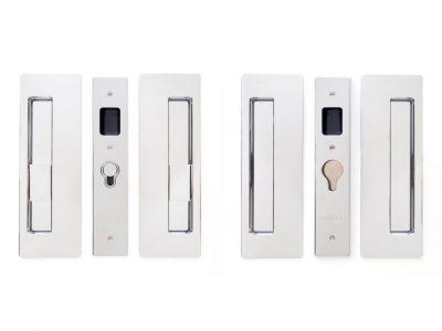 CL400 Series Bi-Parting Handle -LH Key /Blank