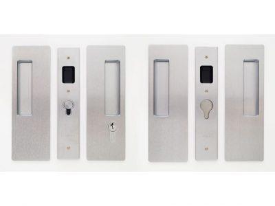 CL400D Series Double Door Key Locking Handle Set Blank /Key