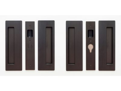 CL400D Series Double Door Passage Set Magnetic Latching