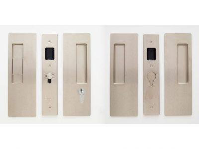 CL400D Series Double Door Key Locking Handle Set Snib /Key