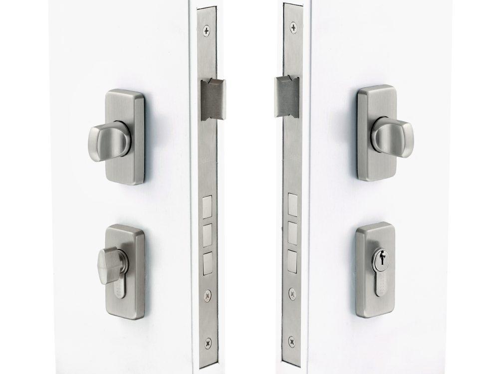 Windsor 60mm Backset Slimline Double Turn Lock