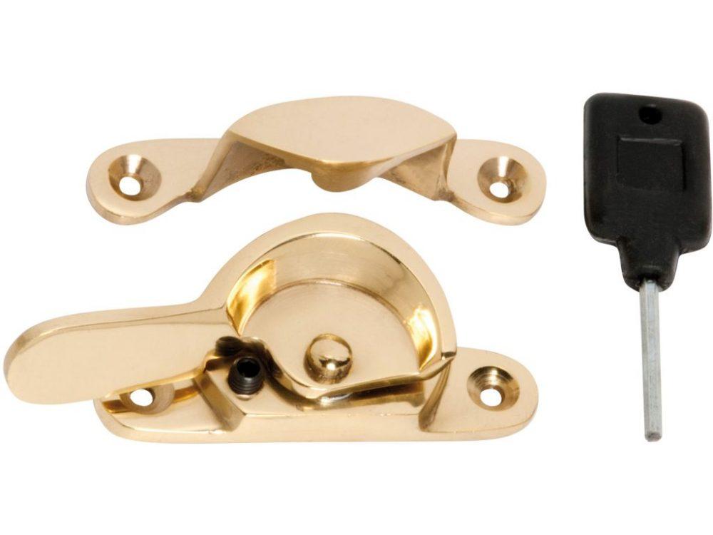 Tradco Grub Screw Locking Double Hung Window Fastener