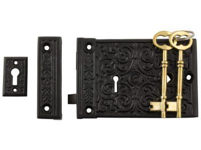 Tradco Low Security Ornate Rim Lock
