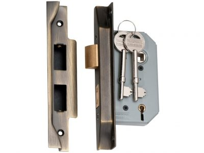 Tradco 5 Lever Exterior Rebated Mortise Lock