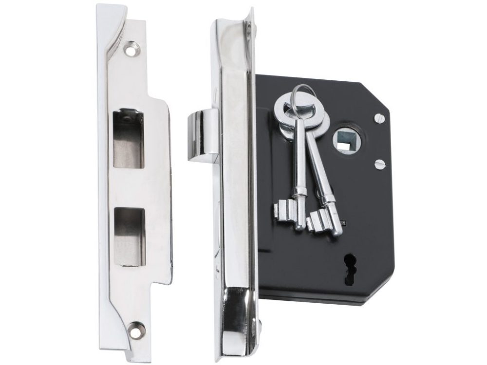 Tradco 57mm Backset Rebated Mortice Lock