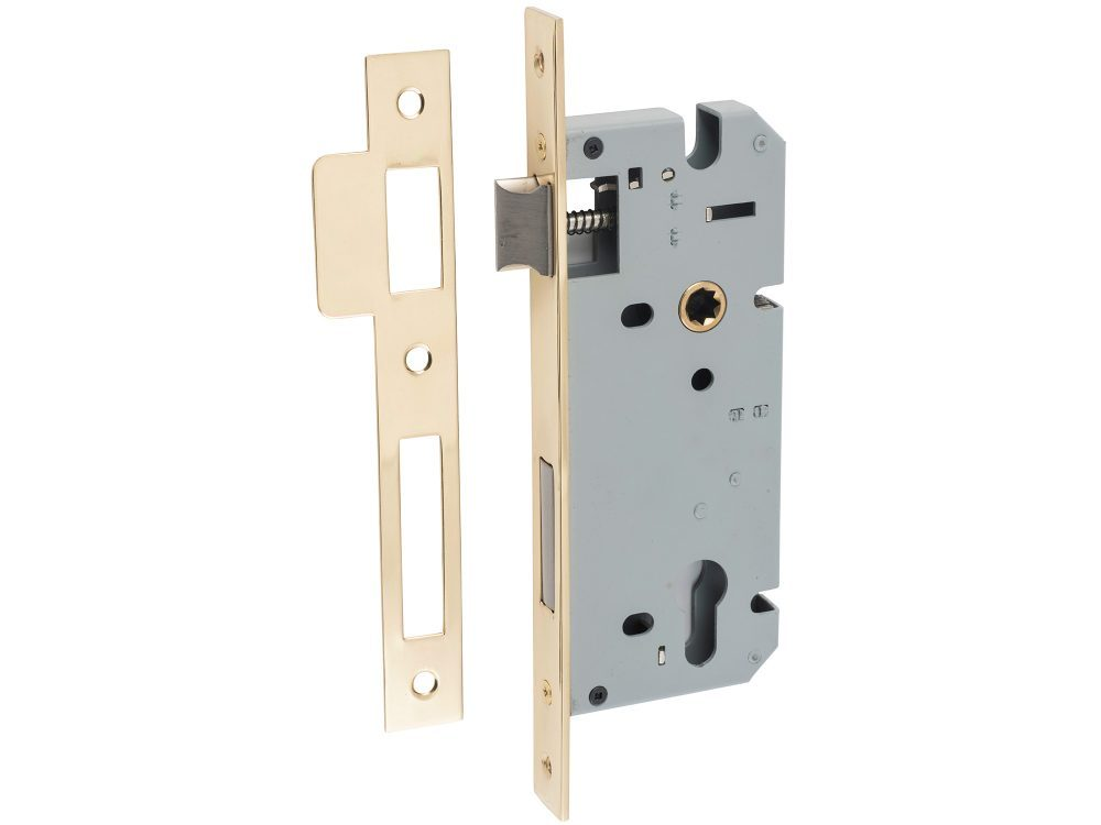 Tradco 45mm Backset Euro Mortice Lock