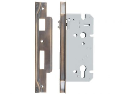 Tradco 85 Centre Euro Roller Mortise Lock Rebated