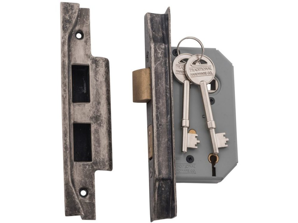 Tradco 46mm Backset 5 Lever Rebated Mortice Lock