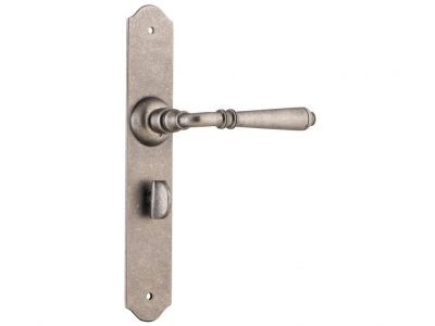 Reims Lever on decorative Plate with Integrated Privacy