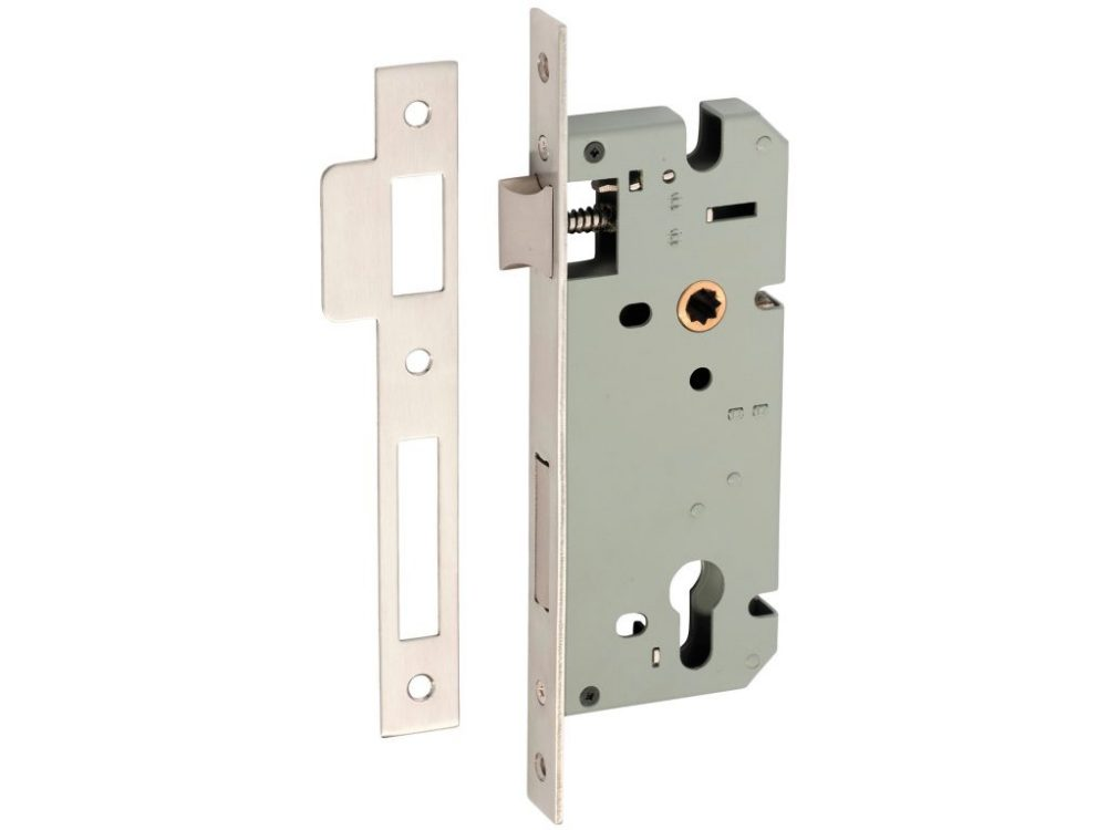 Tradco 60mm Backset Euro Mortice Lock