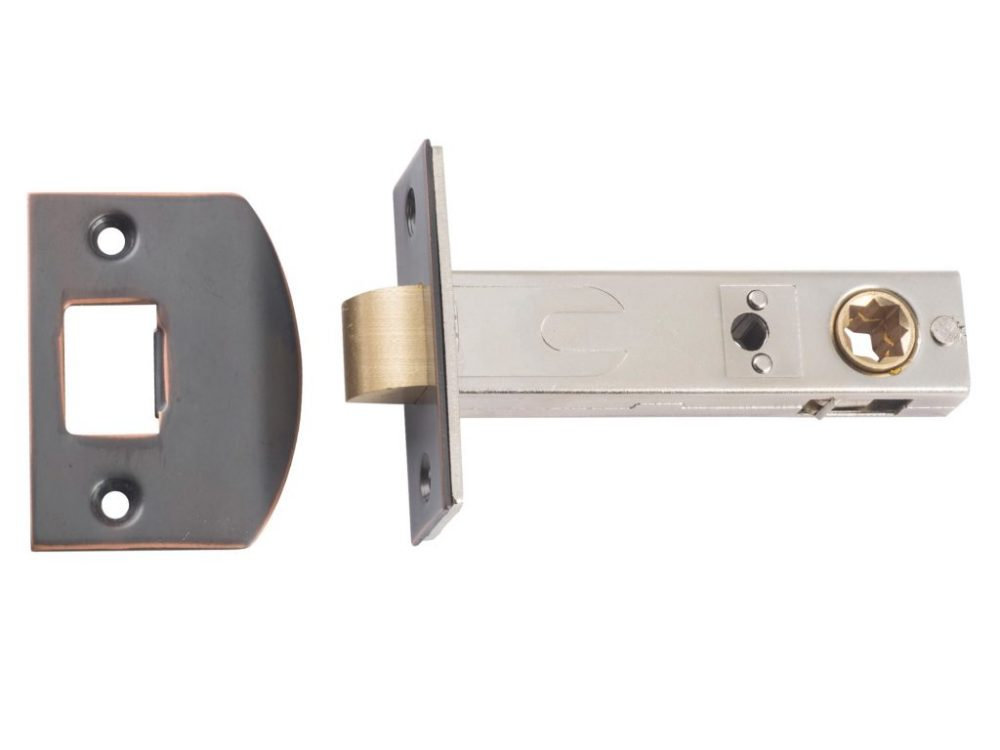 Tradco 70mm Backset Tubular Latches