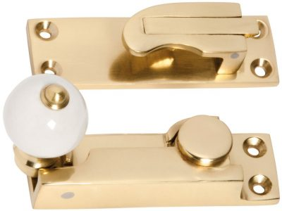 Tradco Porcelain Ball Double Hung Window Fastener