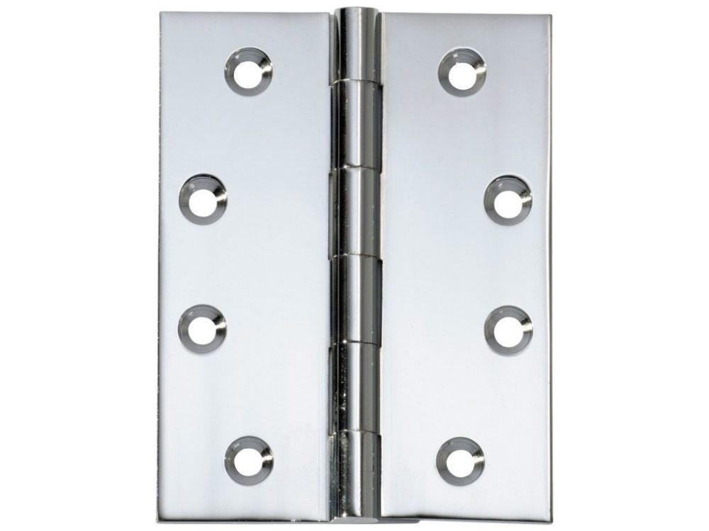 Tradco 100 x 75mm Square Corner Fixed pin Hinge