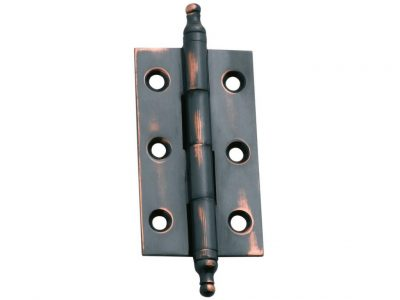 Tradco Fixed Pin Finial Cabinet Hinges