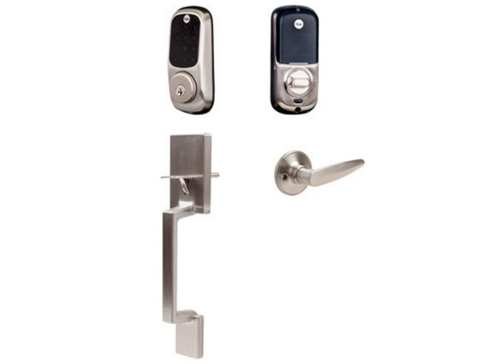 Yale Electronic Deadbolt With Alexander Gripset