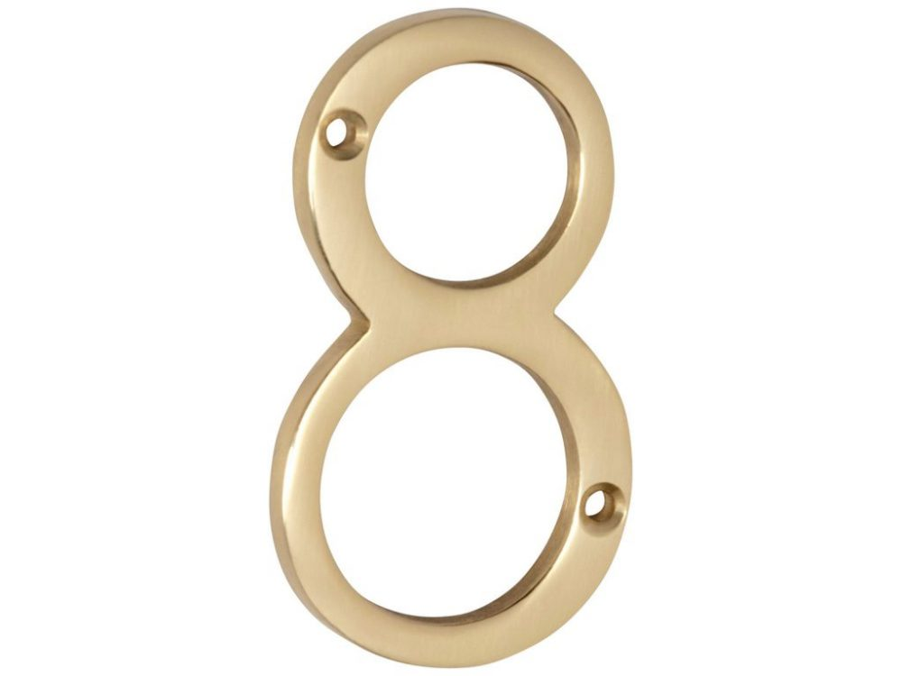 Tradco 75mm Face Fixed Numeral