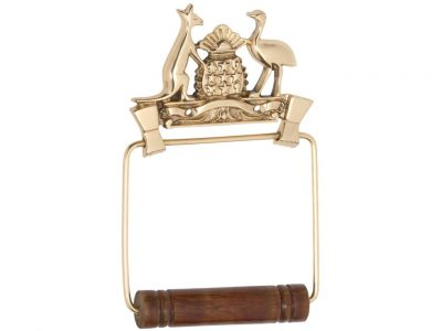 Tradco Coat Of Arms Toilet Roll Holder