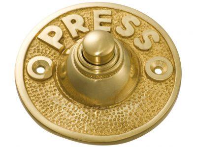 Tradco 63mm Door Bell Button