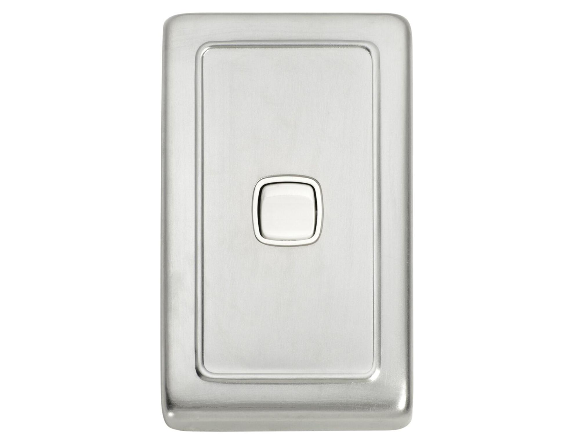 Rocker Light Switch >> Tradco Flat Plate Rocker Light Switch
