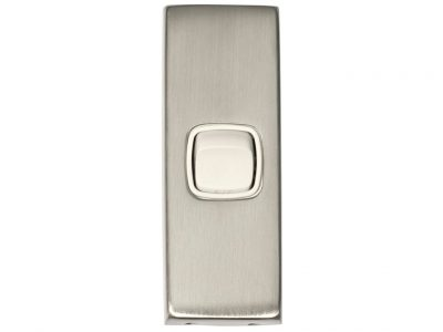 Tradco Flat 316 Stainless Steel Rocker Light Switch