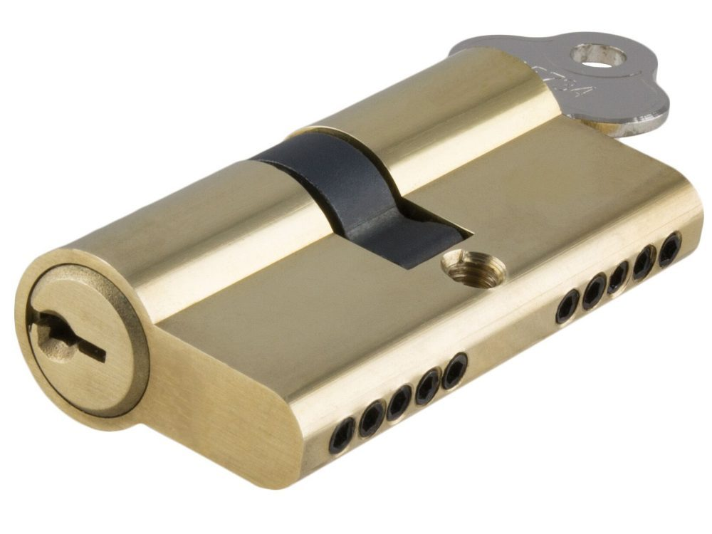 Tradco 60mm C4 5 Pin Double Euro Cylinders