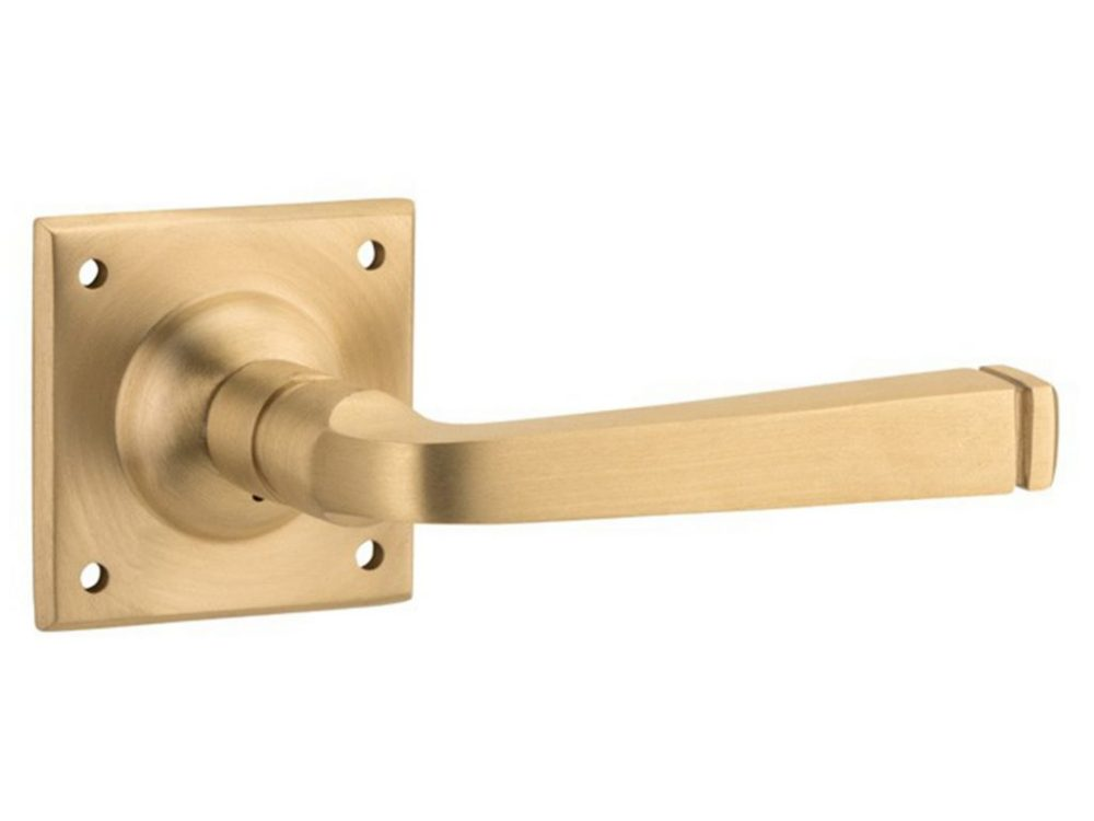 Menton Lever On 60mm Square Rose