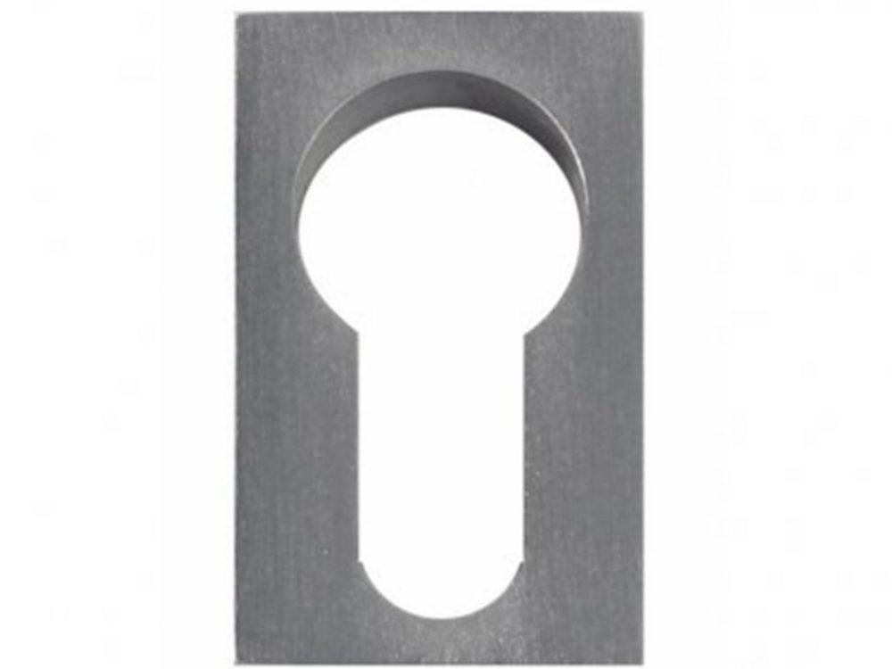 Windsor Minimal Line Euro Keyhole Escutcheon