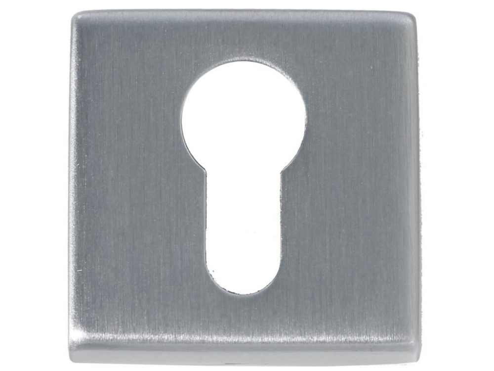 Windsor Square Euro Keyhole Escutcheon