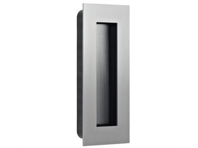 JNF 135 x 55mm Recessed flush Pull