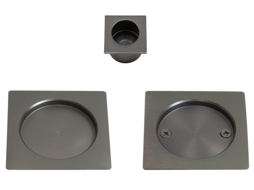 Windsor Square Cavity Passage Handle Set