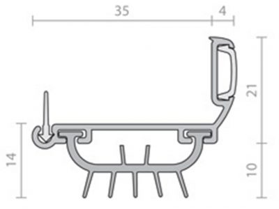 Raven RP4T Bottom Door Seal