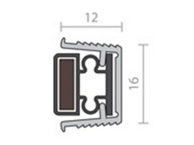 Raven RP65 Magnetic Astragal Door Seal