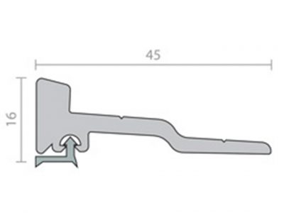 Raven RP91 Threshold Plate
