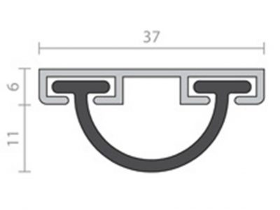 Raven RP31 Bottom Door Seal
