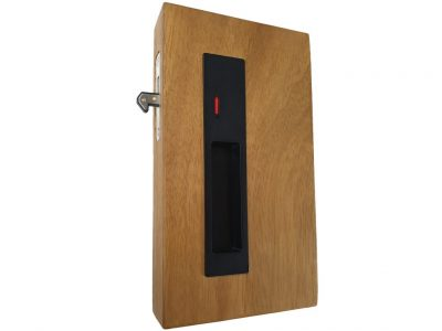 Bailey Max sliding door privacy lockset