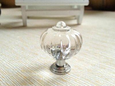 Swarovski and Glass Handles