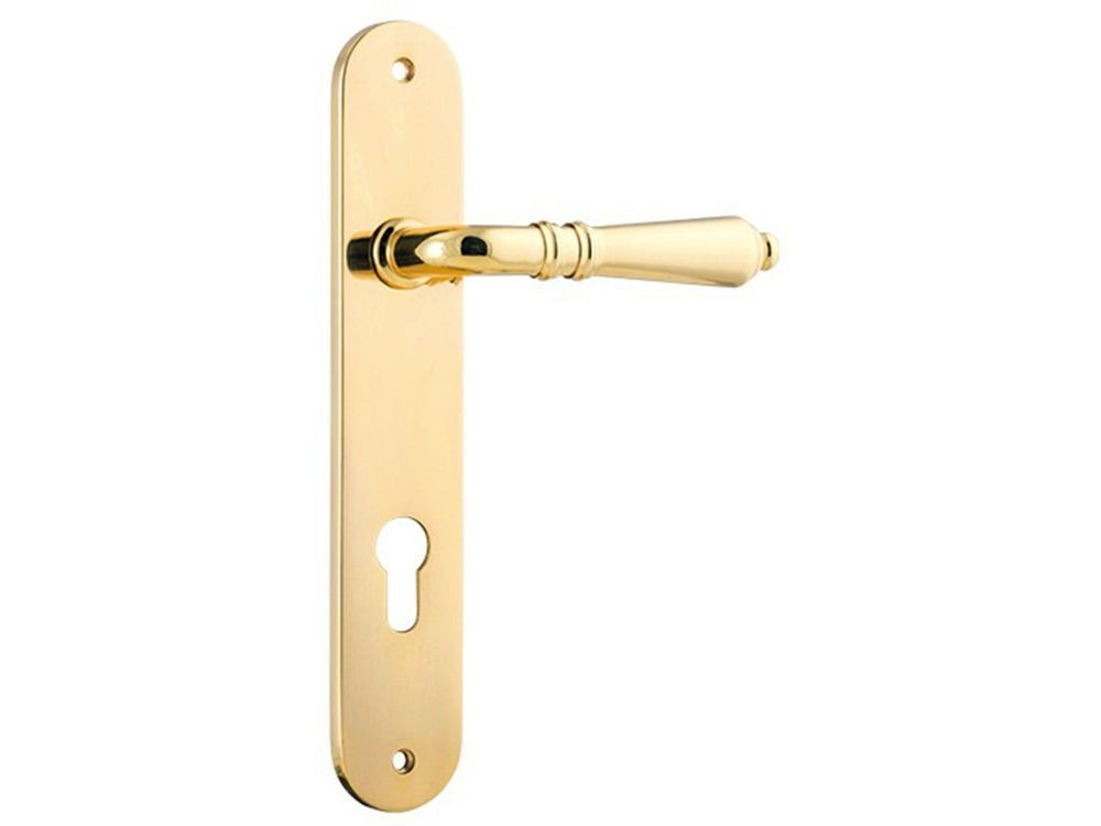 Sarlat Lever on Oval long Plate Euro