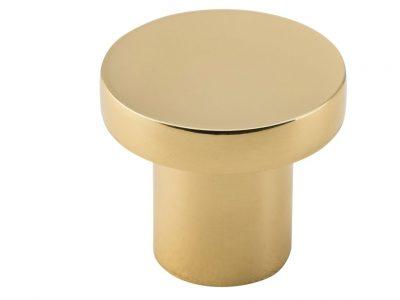 Bankston Bronte Polished Brass 32mm Round Cabinet Knob