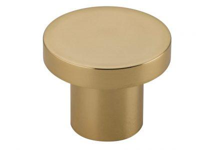 Bankston Bronte Polished Brass 38mm Round Cabinet Knob