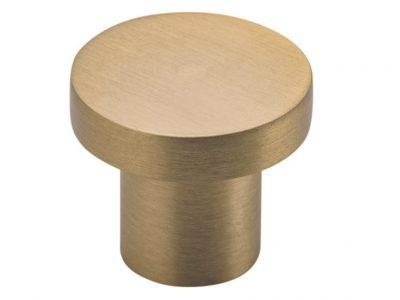 Bankston Bronte Satin Brass 32mm Round Cabinet Knob