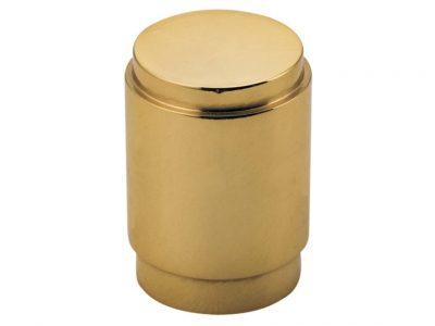 Bankston Berlin Polished Brass 20mm Round Cabinet Knob
